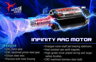 Action Army A10-002 R-40000rpm Infinity Motor Long Type by Action Army