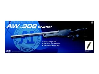 AW .308 Accuracy International Spring Bolt Action AW308 by Asg