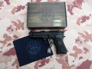 Beretta M92FS Scritte e Loghi Originali Full Metal GBB - Co2 Ready by Umarex