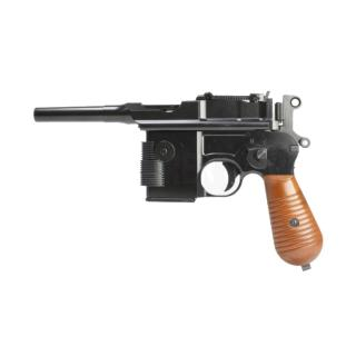 Broomhandle M712 GBB Solo Star Wars Base Kit Full Wood & Metal Semi - Auto by AW Custom