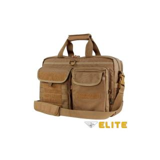 OFFERTA: CONDOR ELITE 111072 Metropolis Briefcase Brown Desert Tan
