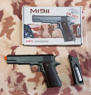 Colt M1911 Type Co2 GBB Full Metal by Kwc