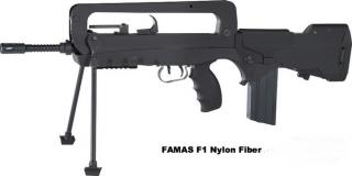 FAMAS F1 2° Version Nylon Fiber Version by Cybergun