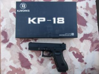 Glock 18c G18c Type KP-18 Metal Slide GBB by Kjw