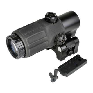 ET Style G33 3X Magnifier With Adjustable QD Mount by Aim-O