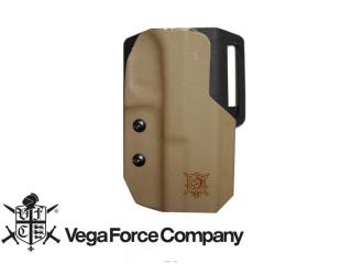 Glock 17 G17 Kidex Holster Tan Fondina Semi Rigida by Vfc