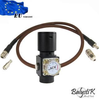 HPA HPR800C V3 Regulator 8mm. Deep Coffe Line - EU by Balystik Airsoft Parts