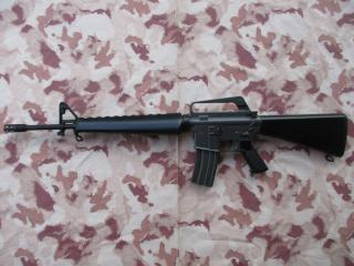 M16A1 1991 First Edition Colt's Logos No Hop Up by Marui