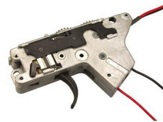 M4 - M16 Ics Gear Box Lower Part Parte Inferiore Gear Box completo di Meccanica MA-62 by Ics