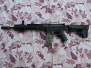 Colt M4 Scritte e Loghi Originali Magpul-Moe-Omega 12-King Arms 9mm. Full Metal  Custom by .softair-italia.it