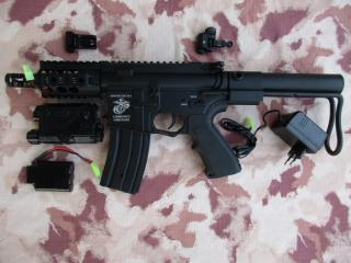 M4 USMC Marine CQB Li-Po Rady Full Metal by Long Spear