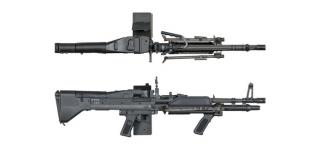 M60 E4 Lmg Mosfet Knight's Armament Licensed by Ares