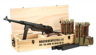 "MP40 ""Schmeisser"" Maschinenpistole AEG EBB Electric Blowback Special Limited Edition by SRC"