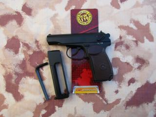 Makarov PM Co2 NBB 14bb Magazine by Kwc