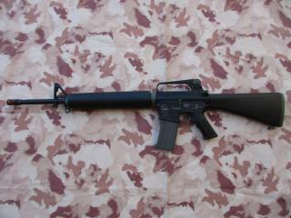 M16A2 Armalite Full Metal C.A. Li-Po Ready 11,1v. BlackMat - OD by W.R.C. Waypoint Rifle Custom
