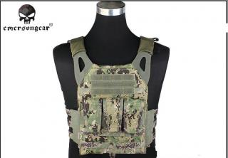 NJPC Jump Plate Carrier Tactical Vest AOR2 by Emerson Gear