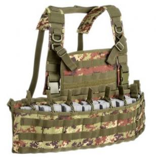Outac OT-RC900 Molle Recon Chest Rig 1000D Vegetato Italiano