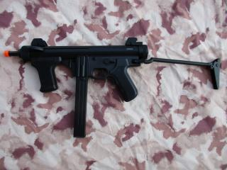 Beretta PM12 Type MP12s SMG Full Metal Aeg by UFC per S&T Armament
