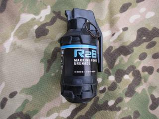 R2BM Smoke/Powder Hand Grenaotechnicsde by Airsoft Pyr