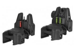 Rhino Optic Fiber Flip Up Sights Kit by Aps