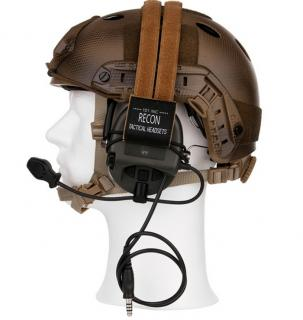 Tactical Helmet & Sordin Headset Conversion Kit by 101 Inc.