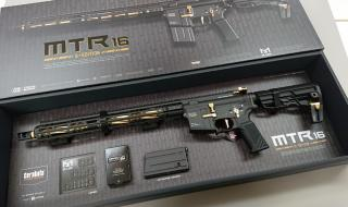 Tokyo Marui MTR16 Gold Edition GBB Gas Blow Back ZET System by Tokyo Marui