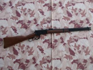 Winchester M1892 SRX V2 Range Gas Abs Wood Version by A&K