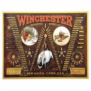 Winchester Repeating Arms Co. Metal Plate - Targa
