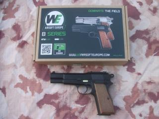Browning Military Full Metal High Power GBB by WE