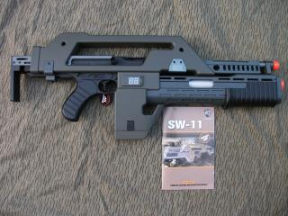Alien M1A1 Pulse Rifle Conversion Kit  by Snow Wolf
