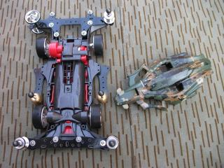 Mini 4WD Carena Custom Water Transfer