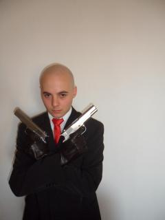 "Lex Boh alias Hitman ""armed&ready"" by softair-italia.it a Luccacomix 2011"