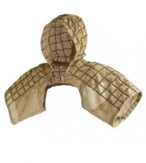 Heavy Mesh Spectre Sand Tactical Cover by S.O.D.