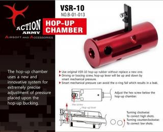 Vsr10 Smart Hop Up Chamber by Action Army
